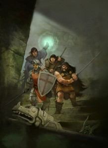 Cover of Dragon Warriors by Jon Hodgson
