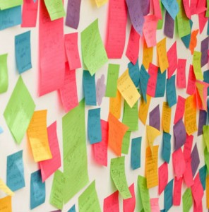 wall-of-sticky-notes